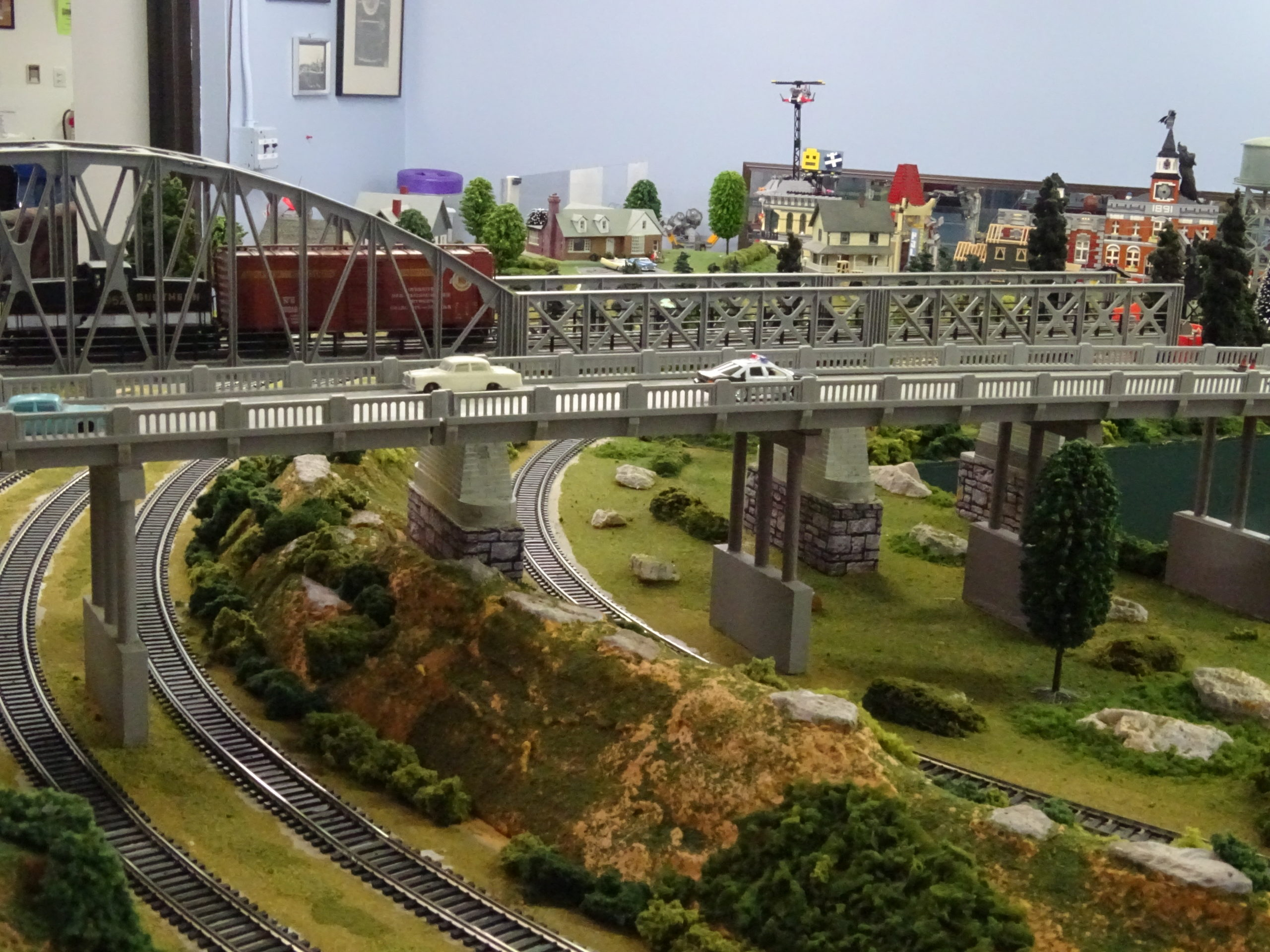 Neuse River Valley Model Railroad Club Station