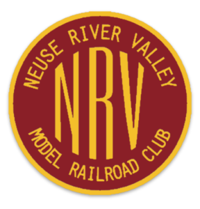 yellow nrv inside a yellow and red circle