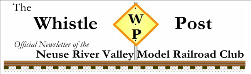 Neuse River Valley Model Railroad Club Newsletter Header