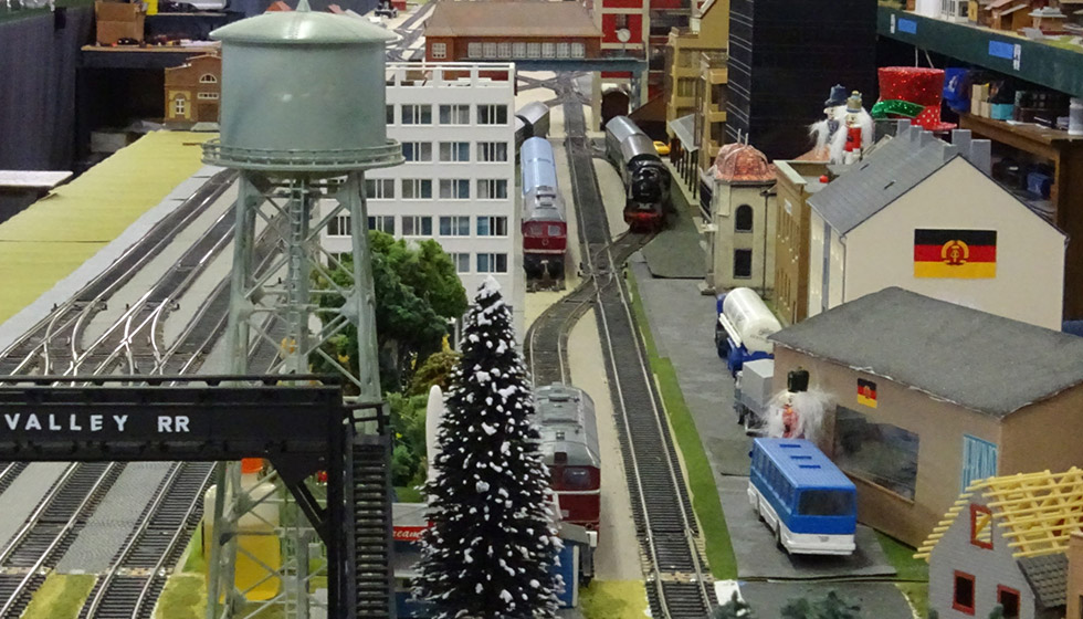 Neuse River Valley Model Railroad Club Track
