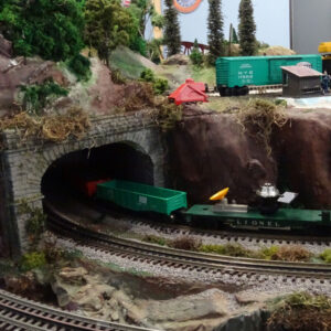 Neuse River Valley Model Railroad Club Tunnel