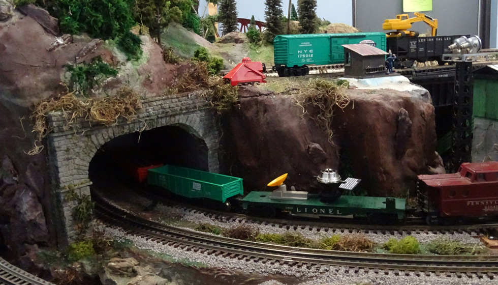 Neuse River Valley Model Railroad Club Tunnel